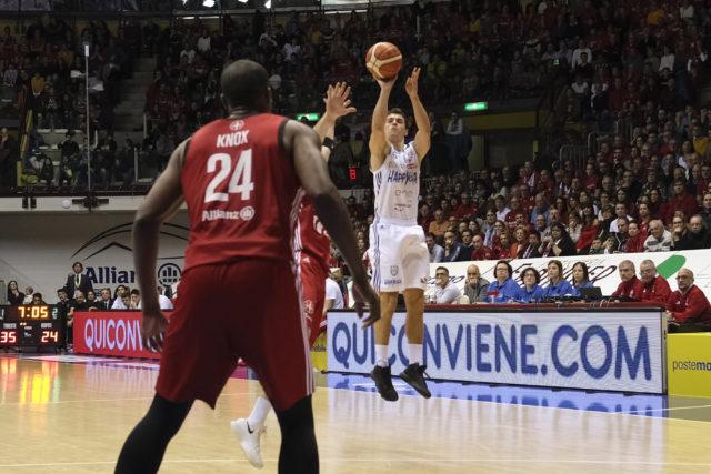 Zanelli Alessandro Alma Trieste - Happycasa Brindisi Legabasket SerieA 2018-2019 Brindisi 30/12/2018 Foto  Ciamillo-Castoria