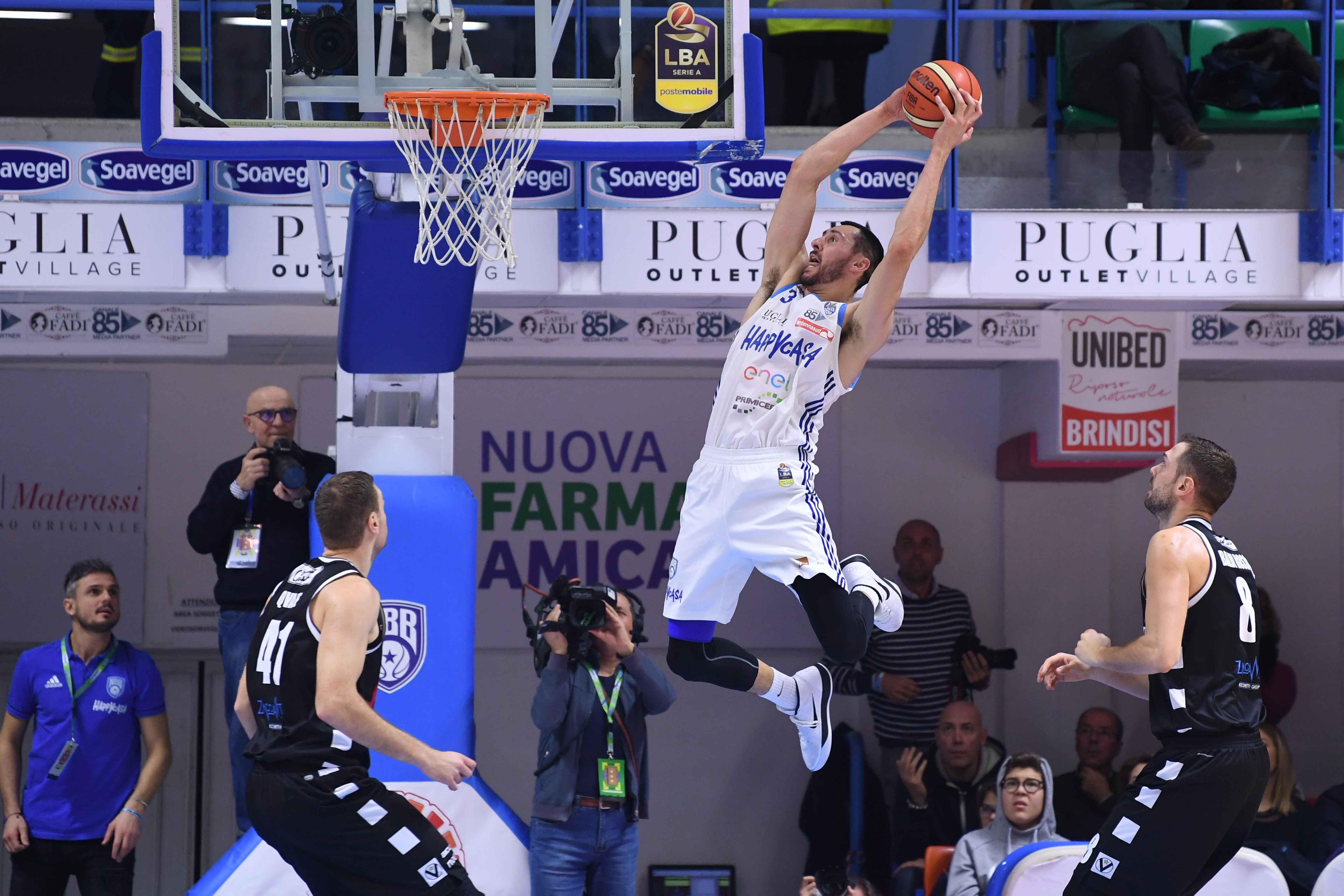 Tony Gaffney Happy Casa New Basket Brindisi - Segafredo Virtus Bologna Legabasket Serie A 2018/2019 Brindisi, 22/12/2018 Foto M.Ceretti / Ciamillo-Castoria