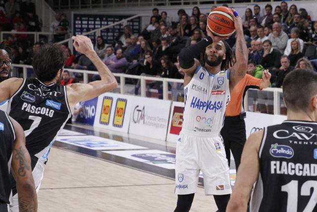 Dolomiti Energia Trentino vs Happy Casa Brindisi Lega Basket Serie A 2018/2019 Trento, 13/01/2019 Foto M.Brunello/Ag. Ciamillo Castoria