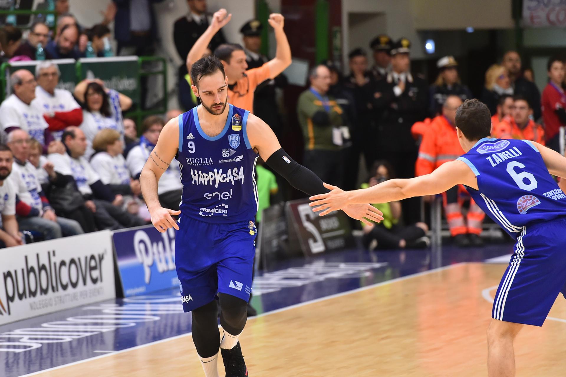 Riccardo Moraschini Banco di Sardegna Dinamo Sassari - Happy Casa Brindisi LBA Serie A Postemobile 2018-2019 Playoff Quarti di Finale Gara 1 Sassari, 18/05/2019 Foto L.Canu / Ciamillo-Castoria