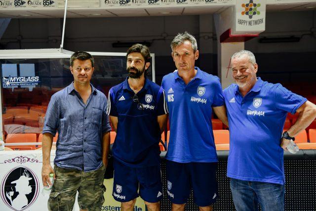Svolto il media day Happy Casa – Squadra in partenza per la Lignano BH Cup