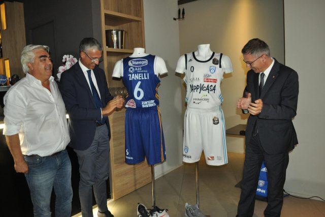 Presentata la divisa gara 2019/20 di Lega A e Supercoppa
