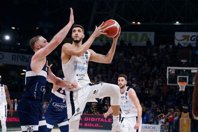 Cattapan HappyCasa Brindisi vs Pompea Fortitudo Bologna Finale 8 Coppa Italia Semifinale Lega Basket Serie A 2019/2020 Pesaro, 15/02/2020 Foto A. Gilardi/Ag. Ciamillo Castoria