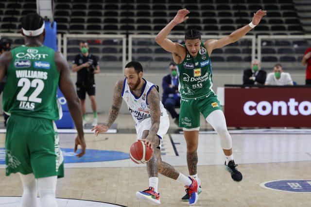 Harrison D'Angelo Aquila Trento - Happy Casa Brindisi Lega Basket Serie A 2020/21 Trento, 07/05/2021 Foto Sergio Mazza / Ciamillo-Castoria